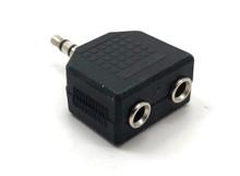 3.5MM Splitter 1Male to 2 Female Adapter