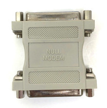 Null Modem Adapter DB25 Female to DB25 Female