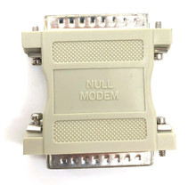 Null Modem Adapter DB25 Male to DB25 Male