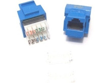 Keystone Jack RJ45 Category 5 - Blue