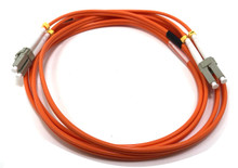 LC / LC Multimode Duplex 62.5/125 Fiber Optic Cable - 2 Meter