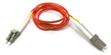 LC / LC Multimode Duplex 62.5/125 Fiber Optic Cable - 1 Meter