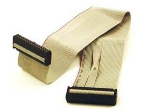 Single Floppy Drive Ribbon Cable 34 Pin 12in Micro
