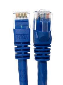 Category 6 UTP RJ45 Patch Cable Blue - 25 ft
