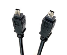 Firewire Cable 4 Pin Male to Male - 6ft