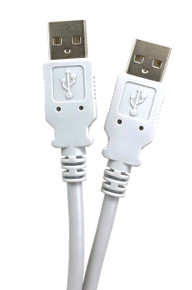 USB 2.0 A to A Type Cable - Beige - 6ft