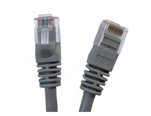 Category 5E UTP RJ45 Patch Cable Gray - 100 ft