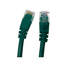 Category 5E UTP RJ45 Patch Cable Green - 1 ft