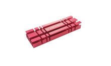 M.2 2280 SSD Heat Sink Kit (Red)