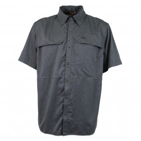 Aftco Cumulus Short Sleeve - Charcoal Heather