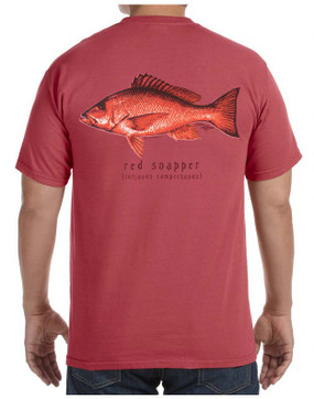 Red Snapper on Crimson Pocket T