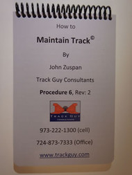 Maintaining Track Pocket Handbook - #32 Paper