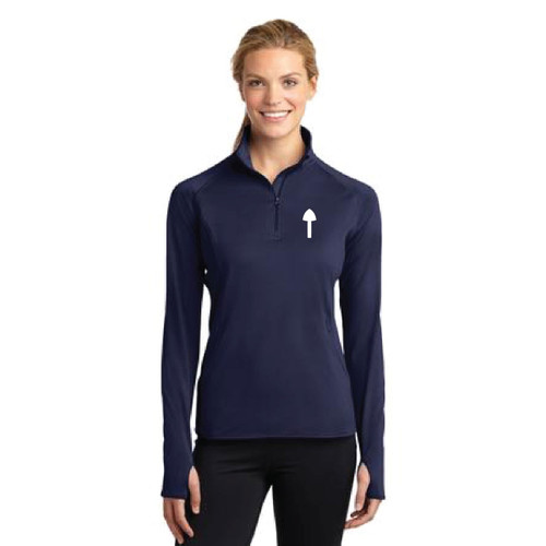 El Toro Class Women's Sport-Wick® Stretch 1/2-Zip Pullover