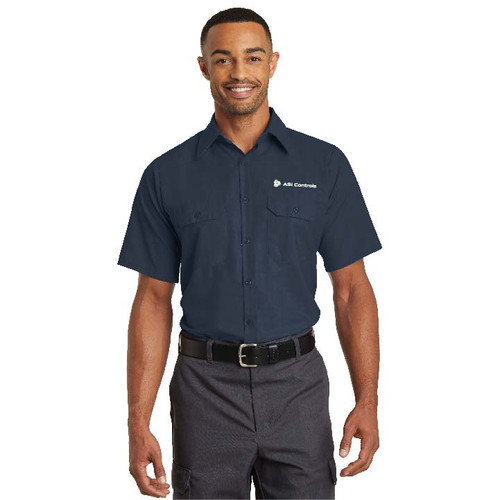 ASI Controls Short Sleeve Solid Ripstop Shirt by Red Kap®