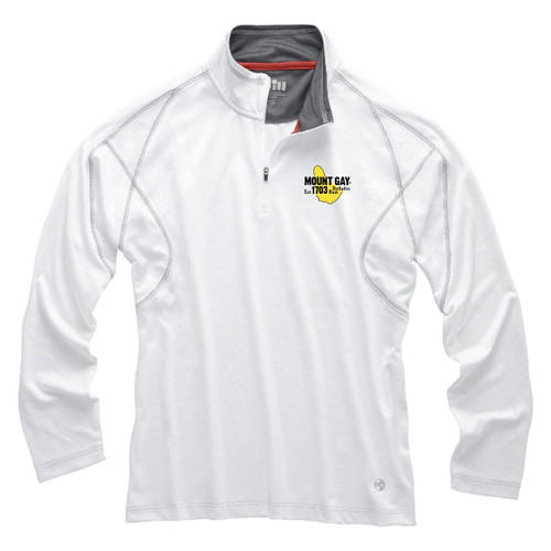 Mount Gay®Rum UV Tech Zip Pullover by Gill®