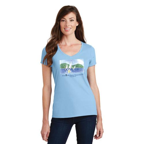 SALE! El Toro North American's 2016 Women's Cotton T-Shirt-Light Blue
