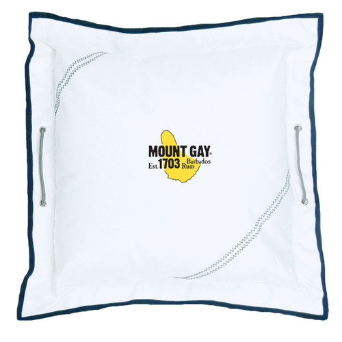 """NEW! Mount Gay® Newport Pillow 21"""" by SailorBags®"""