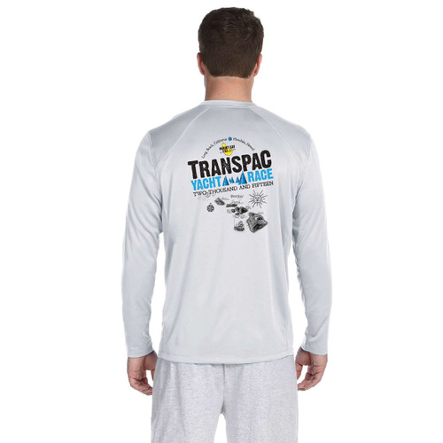 SALE! Mount Gay® Rum TransPac 2015 Men's Wicking Shirt (White)