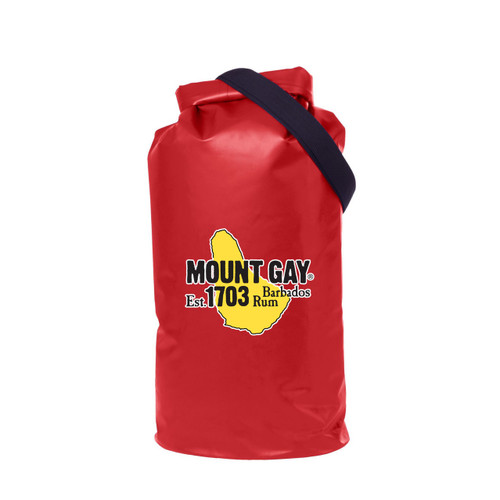 Mount Gay® Rum Splash/Dry Bag with Strap by Port Authority® (Red)