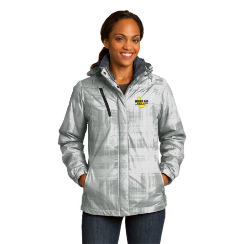 Mount Gay® Rum Women's Brushstroke Print Insulated Jacket by Port Authority®