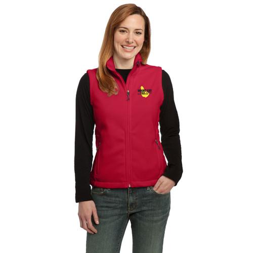 Mount Gay® Rum Women's Fleece Vest by Port Authority®