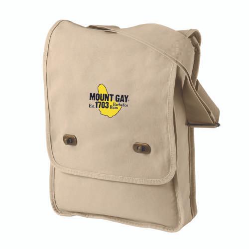 Mount Gay® Rum Canvas Shoulder Bag (Putty)