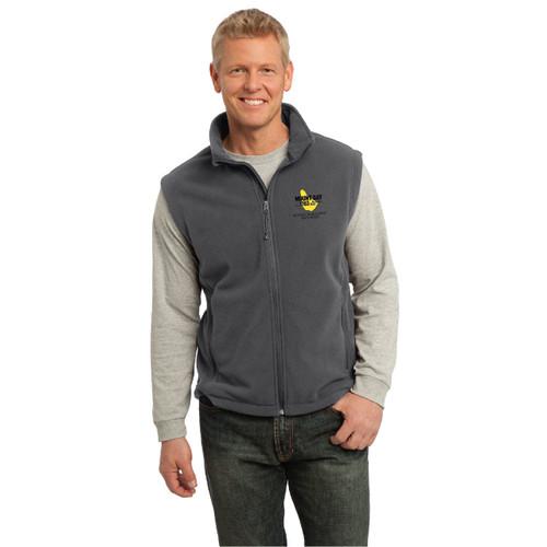 Mount Gay® Rum Quantum Key West Race Week Men's Fleece Vest (Gray)