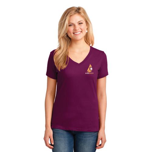 2017 Summer Sailstice Women's V-Neck Cotton T-Shirt