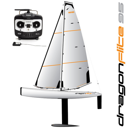 DragonFlite 95 DF95 Class RC Sailboat 950mm RTR