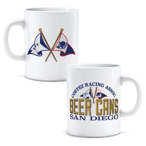 SALE! CRA Beer Cans San Diego Coffee Mug