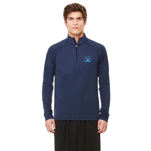 SDYC Yachting Cup Men's 1/4 Zip Wicking Pullover