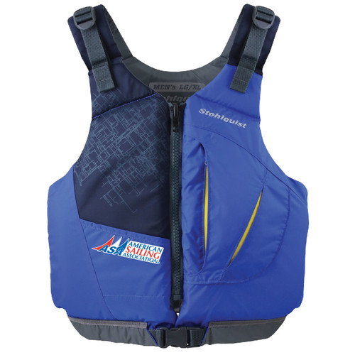 American Sailing Association Adult Life Jacket by Stohlquist (Blue)