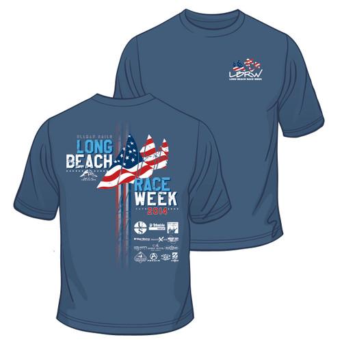 CLOSEOUT! Long Beach Race Week 2014 Cotton T-Shirt