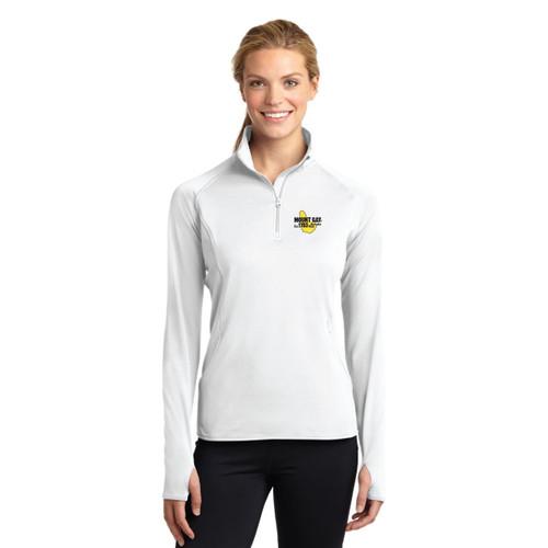 Mount Gay® Rum Women's Sport-Wick® Stretch 1/2-Zip Pullover