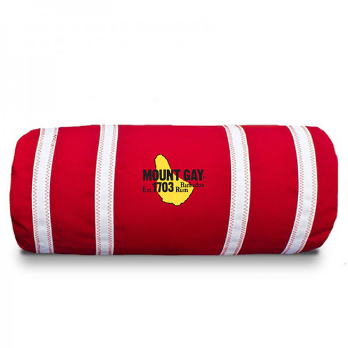 Mount Gay® Rum Nautical Stripes Bolster Pillow by SailorBags®