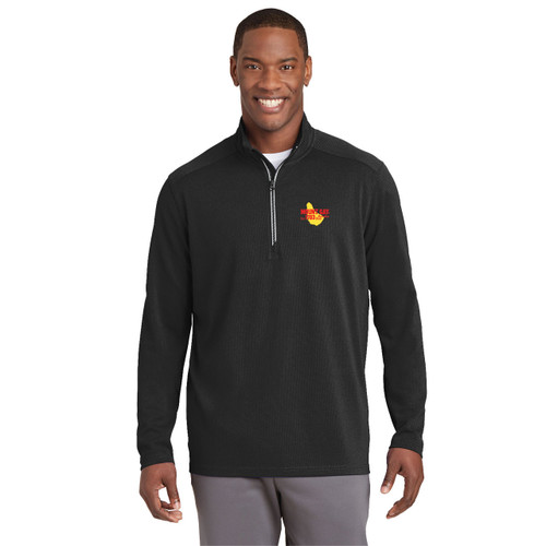 Mount Gay® Rum Men's 1/4 Zip Wicking Pullover
