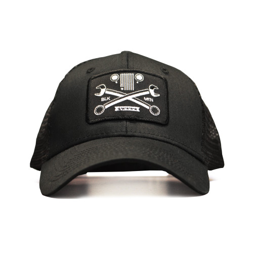 Crossed Wrench Snapback Cap