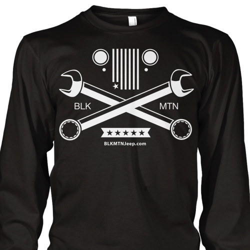 Crossed Wrenches Long Sleeve Tee