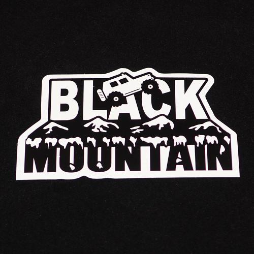 Black Mountain Logo 5x3 Die-Cut