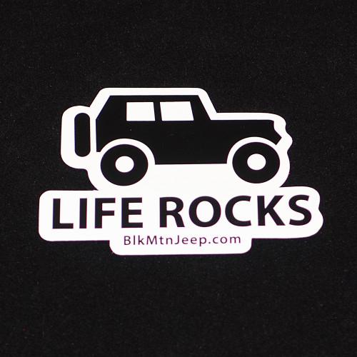 Life Rocks 4x3 Black