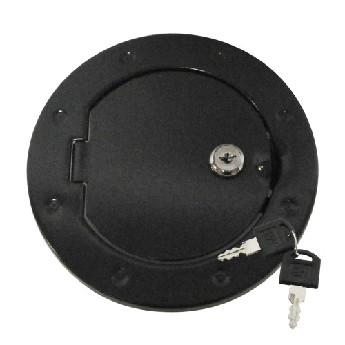 Locking Fuel Door - Black