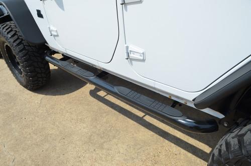4-Door Sidebars - Black