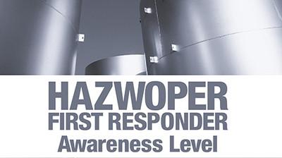 HAZWOPER First Responder: Awareness Level