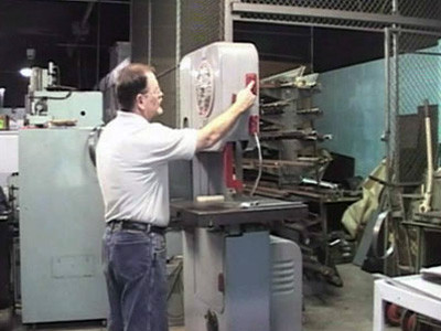Basic Machine Technology: Vertical Band Saws - Parts, Accessories & Operation