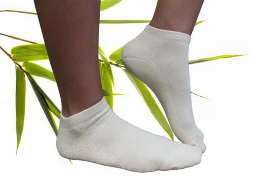 Bamboo blend Ankle Socks Natural