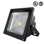 50W LED Flood Light. 3700-4200 Lumens -  277V. 4 Units Per Carton
