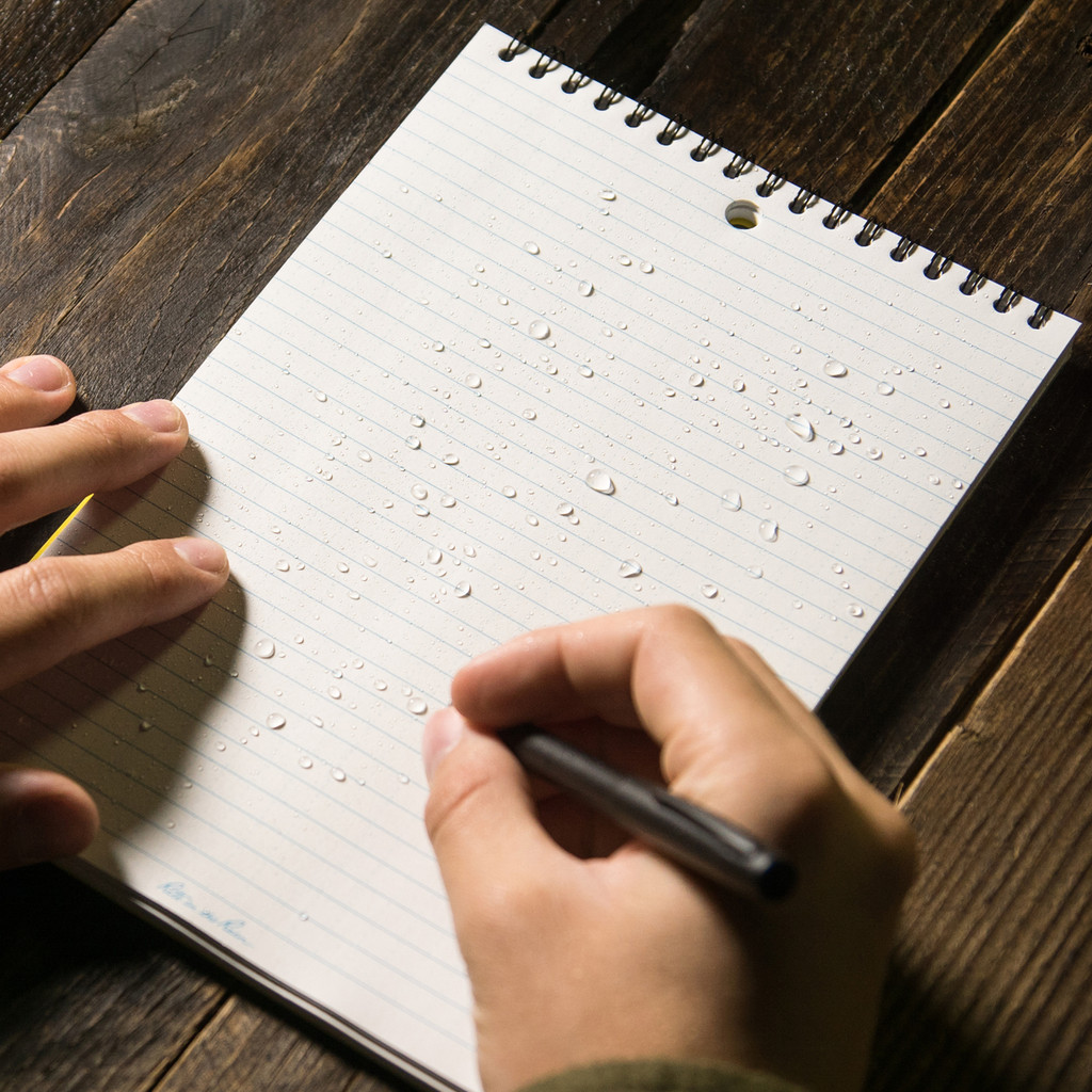All-weather Notepad!