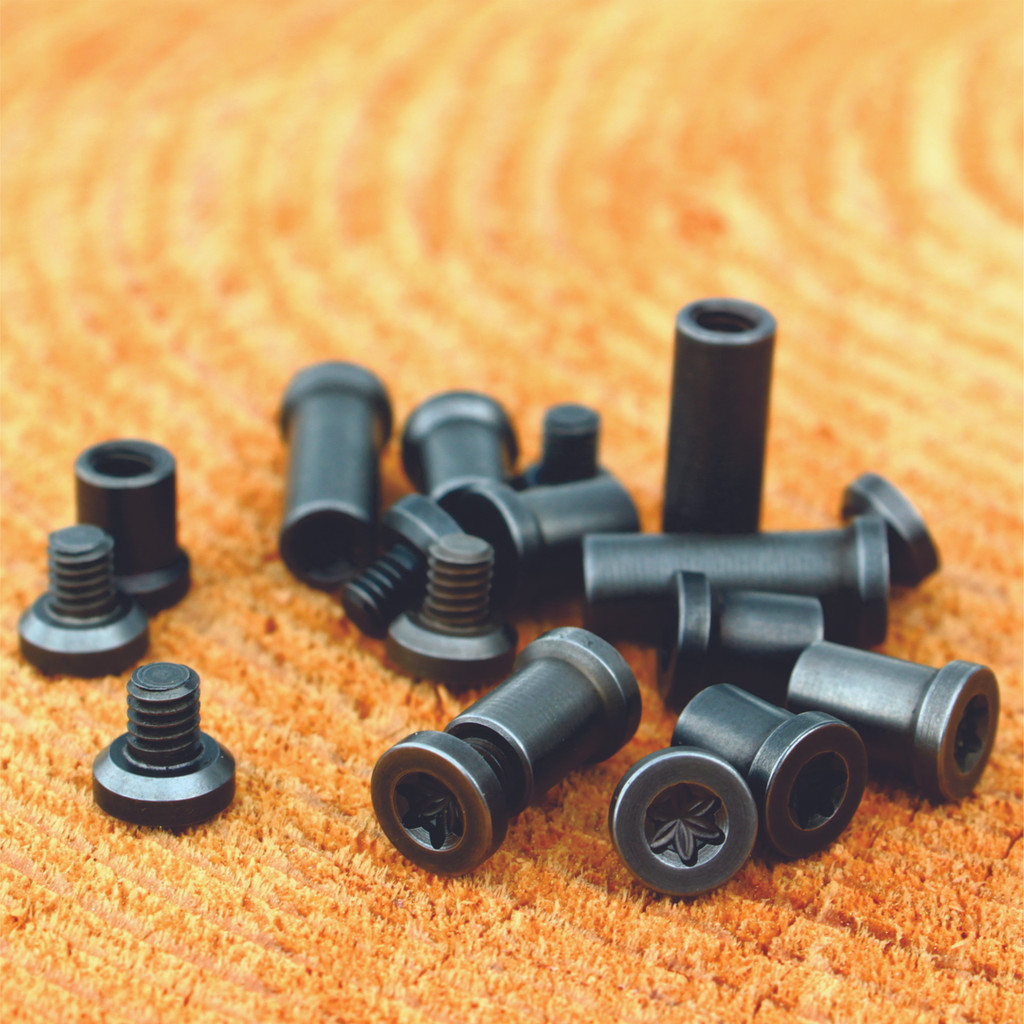Tumbled t-25 fasteners