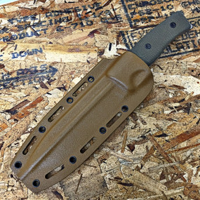 GSO-5.1 in a coyote brown Kydex sheath