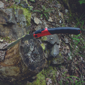 F180 Folding Saw in action